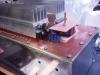 Uitgangstransformator, zijaanzicht DL9AH amplifier.