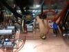 Uitgangs relais en ruststroom schakeling.