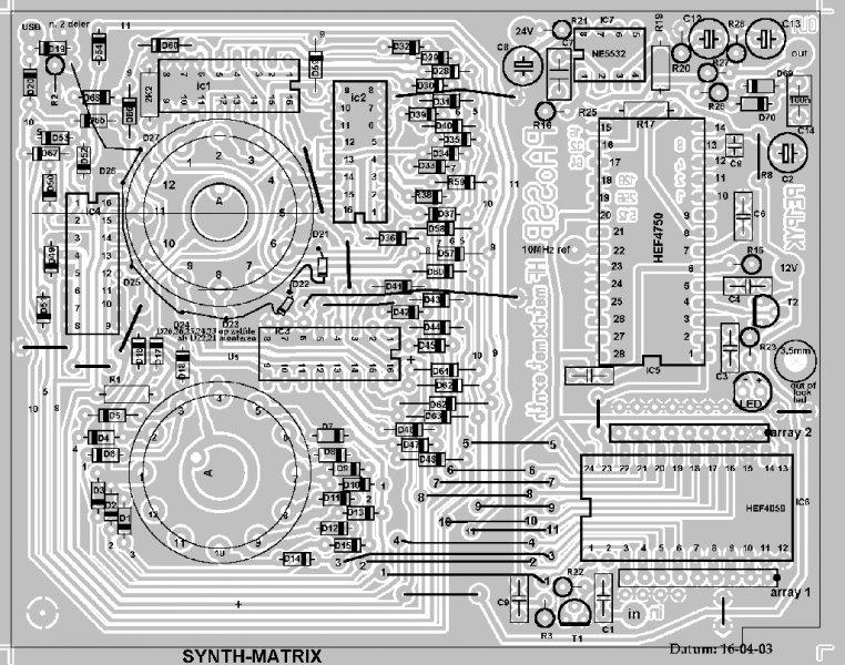 Synth-matrix print
