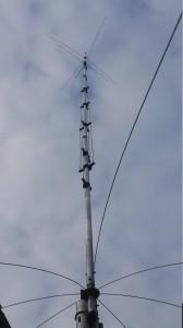 HyGain AV640 8 bands HF antenne