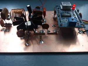 30 meter band WSPR amplifier