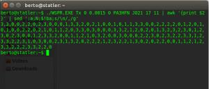 WSPR data genereren