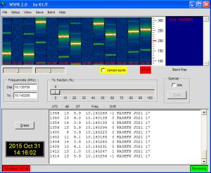 Arduino WSPR test PA3HFN