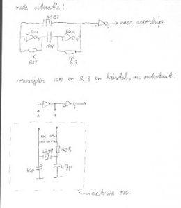 SCC kaart externe oscillator