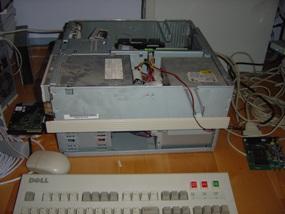 Test opstelling Baycom EPP modem